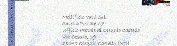 Indicazione Casella Postale